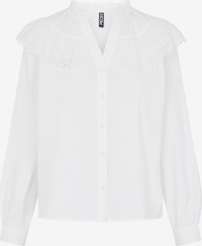 PIECES Blusa 'Evangla' en blanco, Vista del producto