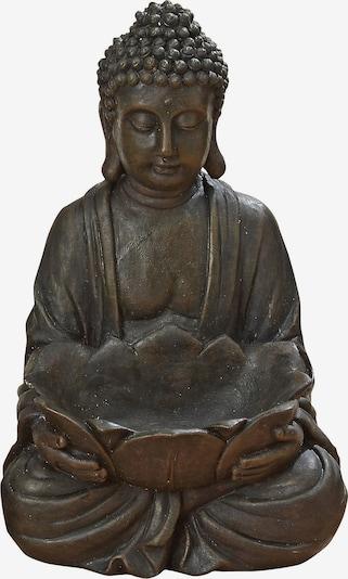 BOLTZE Buddha in dunkelbraun, Produktansicht