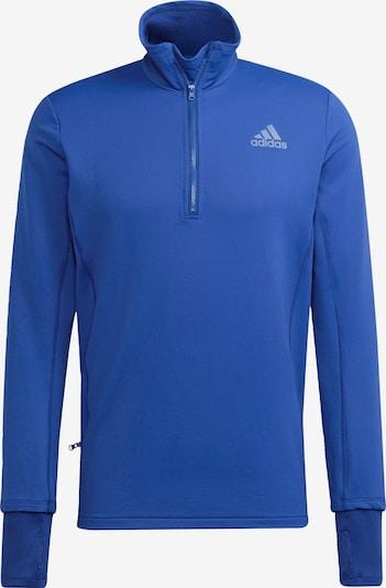 Hanorac sport ADIDAS PERFORMANCE pe albastru / alb, Vizualizare produs