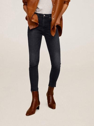 MANGO Jeans in dunkelgrau: Frontalansicht