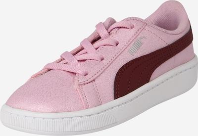 PUMA Sneaker 'Vikky V2' in rosa / weinrot / silber, Produktansicht
