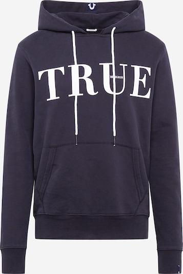 Bluză de molton True Religion pe gri bazalt, Vizualizare produs