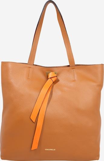 Coccinelle Shopper torba u karamela: Prednji pogled