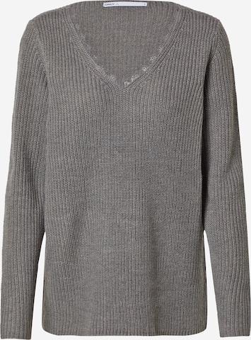 ONLY Sweater 'JENNIE' in Grey