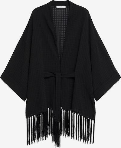 VIOLETA by Mango Kimono ' flecos' | črna barva, Prikaz izdelka