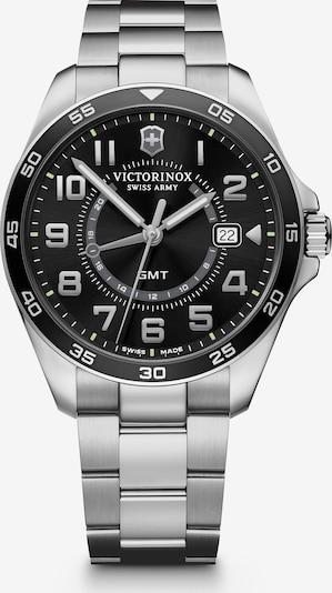 VICTORINOX Analoog horloge 'Fieldforce' in de kleur Zwart / Zilver, Productweergave