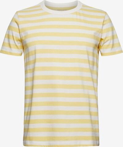 ESPRIT T-Shirt in gelb / weiß, Produktansicht