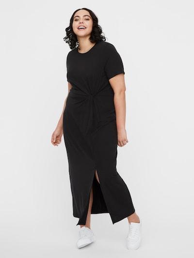 Vero Moda Curve Kleid 'Ava Lulu' in schwarz, Modelansicht