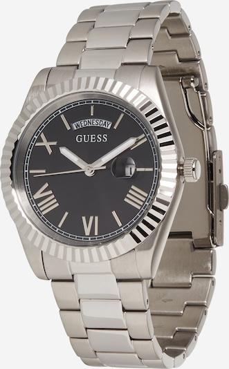 GUESS Uhr 'Connoisseur' in schwarz / silber, Produktansicht