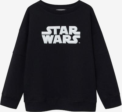 MANGO KIDS Sweatshirt 'Star' in schwarz / weiß, Produktansicht