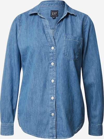 GAP Bluse 'ROSALIE' in blue denim, Produktansicht