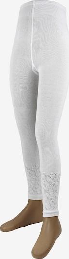 ROGO Strickleggings 'Rhomben' in weiß, Produktansicht