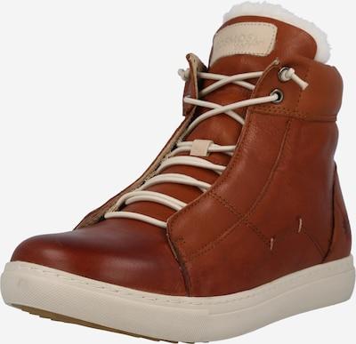 COSMOS COMFORT Zapatillas deportivas altas en crema / caramelo, Vista del producto