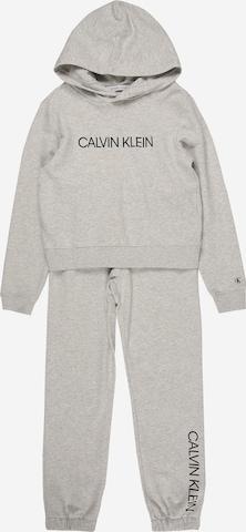 Calvin Klein Jeans Sweat suit in Grey