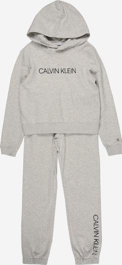 Calvin Klein Jeans Survêtement en gris / noir, Vue avec produit