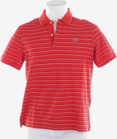 LACOSTE Poloshirt in M in rot / schwarz, Produktansicht