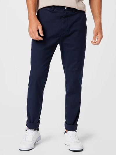 DIESEL Chinohose in dunkelblau, Modelansicht
