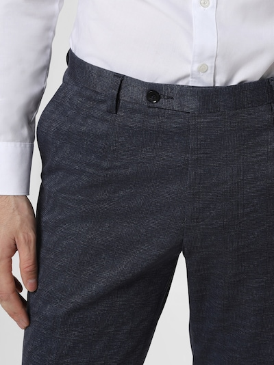 Finshley & Harding London Baukasten-Anzug Hose in blau, Produktansicht