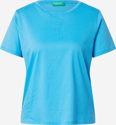 UNITED COLORS OF BENETTON T-shirt en aqua, Vue avec produit