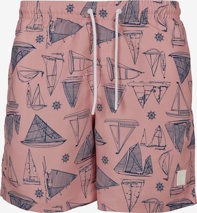 Urban Classics Plavecké šortky - enciánová / staroružová, Produkt