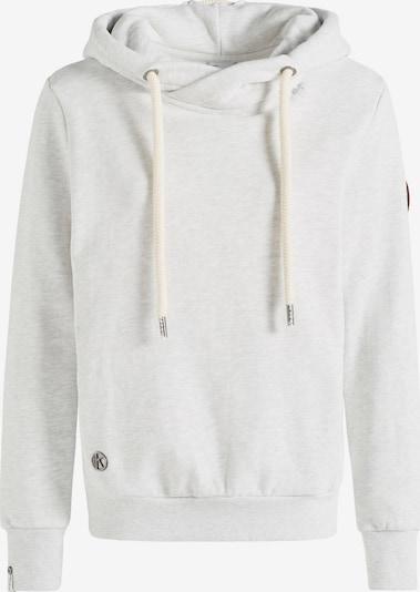 khujo Sweatshirt 'Tesia' in braun / grau / weiß, Produktansicht