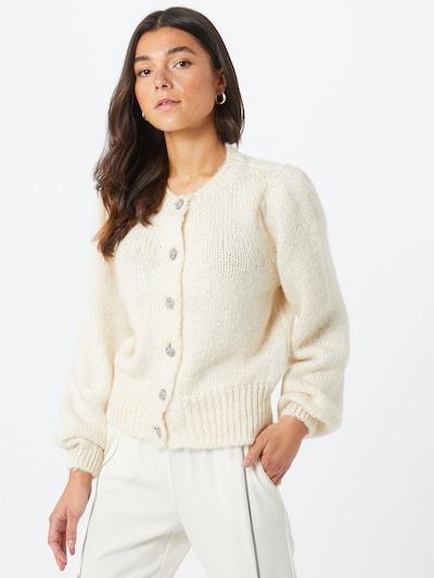 ONLY Strickjacke in beige, Modelansicht