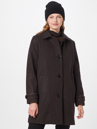 sessun Between-Seasons Coat in Chestnut brown, View model