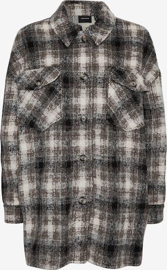 VERO MODA Between-Season Jacket 'Luna' in Brown / mottled grey / Black / White, Item view