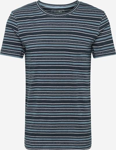 TOM TAILOR DENIM Tričko - svetlomodrá / čierna / biela, Produkt