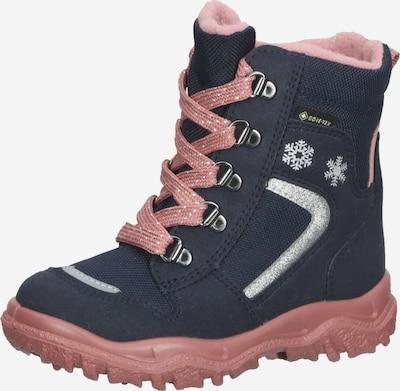 Bocanci de zăpadă 'HUSKY' SUPERFIT pe albastru noapte / gri argintiu / roz, Vizualizare produs