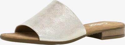 GABOR Pantolette in silber, Produktansicht
