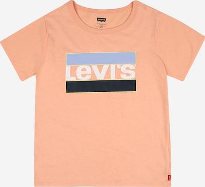 LEVI'S Majica u sivkasto plava / breskva / crna / bijela, Pregled proizvoda