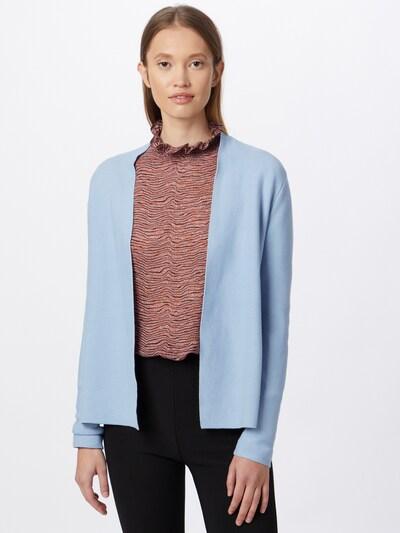 Geacă tricotată TOM TAILOR pe albastru deschis, Vizualizare model