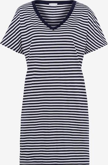 Hanro Nachthemd ' Laura (85cm) ' in de kleur Donkerblauw, Productweergave