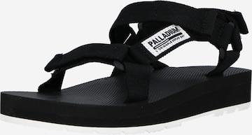 Sandales Palladium en noir