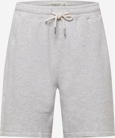 Pantaloni Abercrombie & Fitch pe gri deschis, Vizualizare produs
