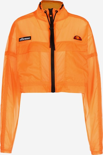 ELLESSE Trainingsjacke ' Sabato ' in orange, Produktansicht