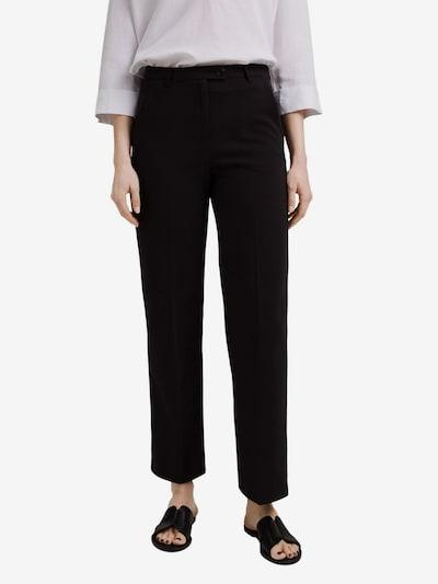 ESPRIT Bügelfaltenhose in schwarz, Modelansicht