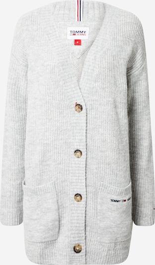 Tommy Jeans Pletený kabát - sivá, Produkt