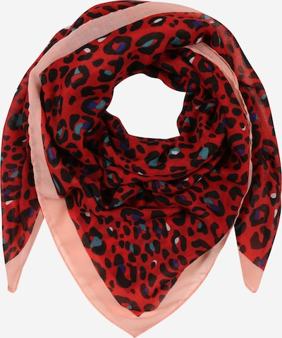 CODELLO Shawl 'Love Land' in sky blue / light pink / red, Item view