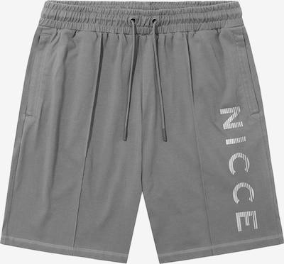 Nicce Pantalon 'SPRINT' en gris fumé / gris clair, Vue avec produit