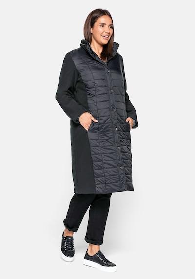 fekete SHEEGO Átmeneti kabátok, Modell nézet