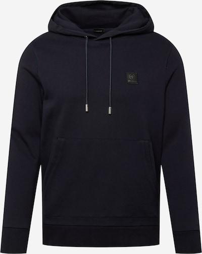 STRELLSON Sweatshirt 'Sanford' in de kleur Donkerblauw / Grijs / Zwart, Productweergave