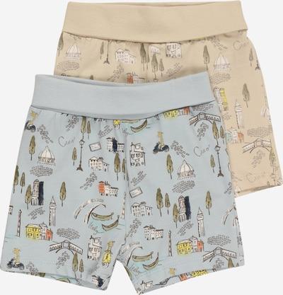 NAME IT Kalhoty 'HELGE' - námořnická modř / opálová / světlemodrá / pastelově žlutá / bílá, Produkt