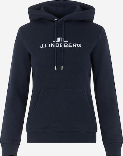 J.Lindeberg Sweatshirt 'Alpha' in marine / weiß, Produktansicht