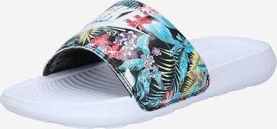 Nike Sportswear Pantolette 'Victori One' in mischfarben / schwarz / weiß, Produktansicht