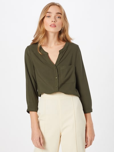 ABOUT YOU Blouse 'Nala' in Dark green, View model