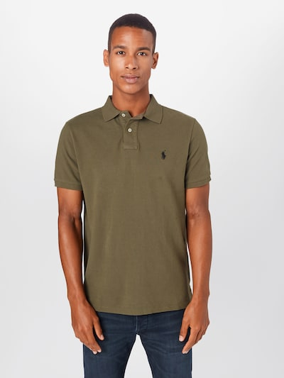 POLO RALPH LAUREN Shirt in de kleur Olijfgroen: Vooraanzicht