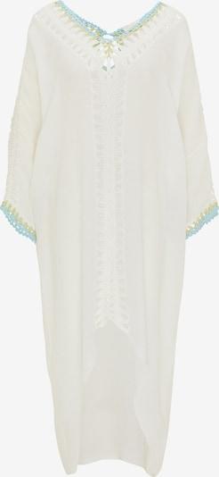 usha FESTIVAL Kleid in hellblau / schilf / weiß, Produktansicht