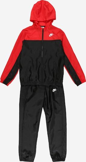 Nike Sportswear Survêtement en rouge / noir, Vue avec produit